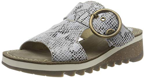 FLY London Tute631fly, Mules Mujer, Marfil (Offwhite 000), 40 EU