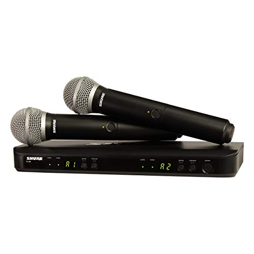 Shure BLX288/PG58 Wireless Microphone System for...