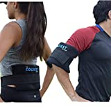 The Coldest Ice Pack 2 Flexible Gel Ice Pack and 1 Wrap with Elastic Strap Only for Cold Therapy, 11-Inch-by-5.9-Inch…