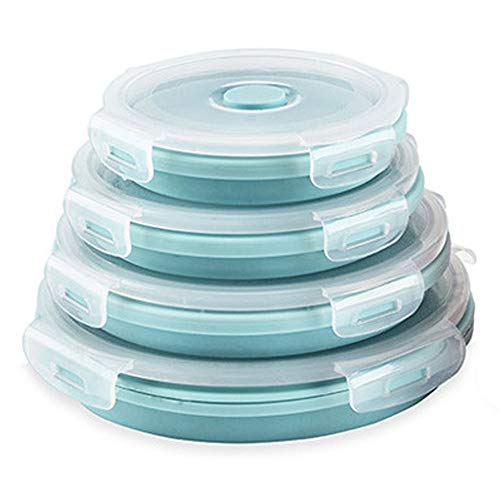 CARTINTS Silicone Collapsible Food Storage...