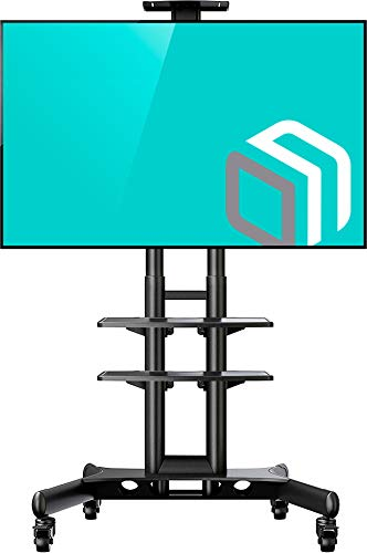 ONKRON Carrello TV mobile universale per schermi al plasma a LED LCD da 32'- 65 pollici fino a 45 kg...