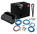 JBL Club 5501 Mono Amplifier with Ported Bandpass Subwoofer Enclosure and 8 Ga Wiring Kit with Sound of Tri-State Lanyard Bundle (Renewed)