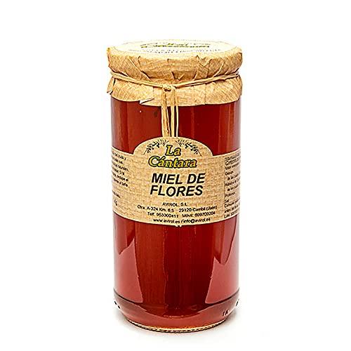 La Cantara Cántara - Miel de Flores 1 Kg – Pura Abeja 100% Natural Origen España
