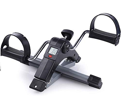 HBMALLINDIA Smart Fitness Cycle Digital Foldable Portable Foot Pedal Exerciser Cycle for Home Gym...