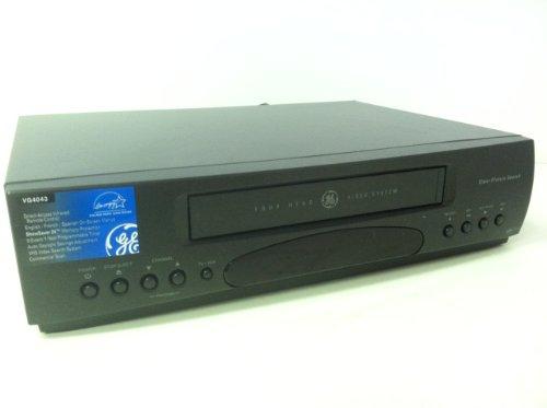 General Electric Video Cassette Recorder VCR Model VG4043