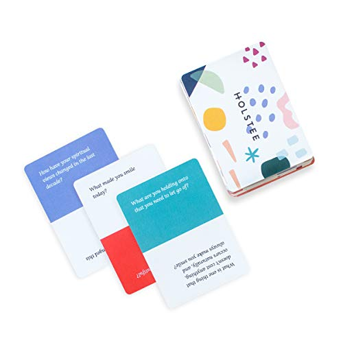 Holstee Reflection Cards - A Deck of 100+ Questions to Spark...