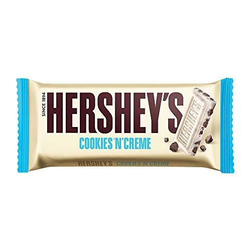 Hershey's Cookies n Creme Chocolate Bar, 40g (Pack Of 8)