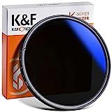K&F Concept 58mm ND2-ND400(9 stops) Filtro ND Variabile Sottile per Obiettivo con Alloggiamento per Fotografia di Paesaggio e Architettura
