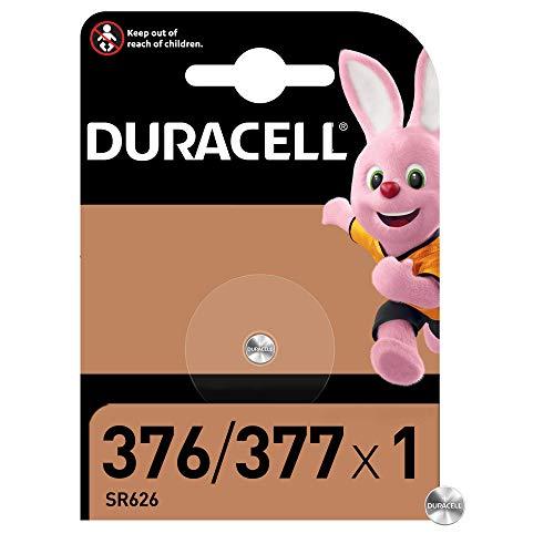 Duracell Pilas especial de óxido de plata 376/377 de 1.55 V