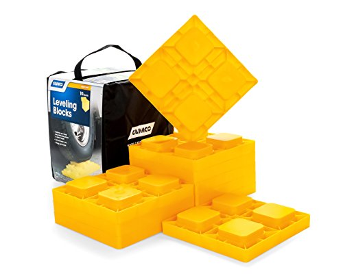 Camco 44510 Heavy Duty Leveling Blocks, Ideal For Leveling Single...