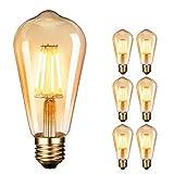Ampoule LED Edison,Dobee Lampe Edison Vintage 4W 400LM 2600-2700K Angle de...