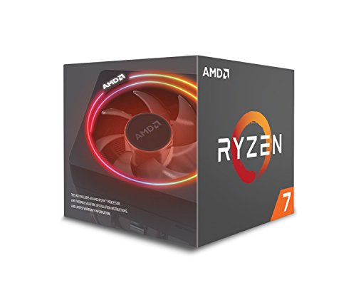 AMD Ryzen 7 2700X Processor with Wraith Prism LED Cooler -...