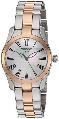 Tissot Damen-Uhren Analog Quarz One Size Edelstahl 87696014