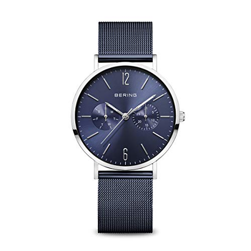 BERING Damen Analog Quarz Uhr mit Edelstahl Armband 14236-303