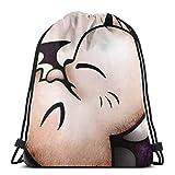 NotApplicable Bolsas con Cordón Bloodborne Ps4 Game Designs Bolsa De Gimnasia Liviana Bolsas De Viaje Navideñas con Cincha para Hombres Imprimir Regalos De Cumpleaños Informales Deportes Deporte