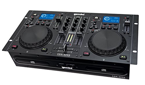 console DJ doppio lettore multimediale USB/CD/MP3