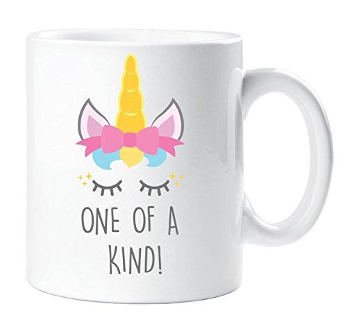 One Of a Kind Unicornio Taza Niña Mejor Amigo Cumpleaños Navidad Daughter
