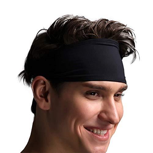 VIMOV Fascia da Uomo- Sports Sweatband per Corsa, Ciclismo, Yoga, Pallacanestro - Fascia Hair...