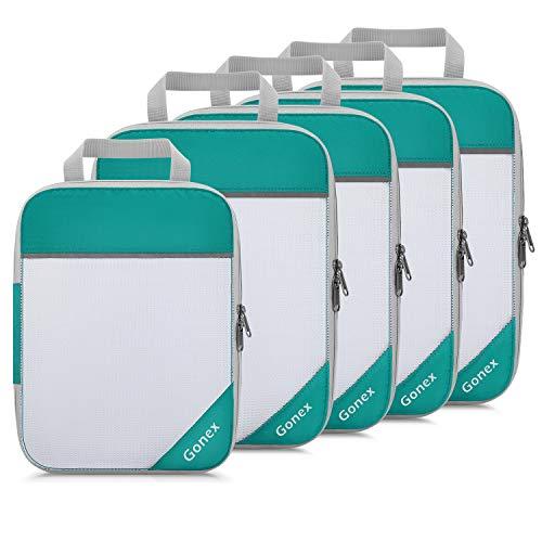 Gonex Organisateur de Sac de Voyage Stockage de Valise Cubes d'emballage de...