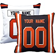 """Easy to order, click """"Customize Now"""" to choose color and size, enter your name and number.You'll get one/two custom personalized pillow/pillowcase. Size: 18 X 18 inch./16 X 16 inch. Material: Fine texture, soft and comfortable hand feeling.Suitable..."""
