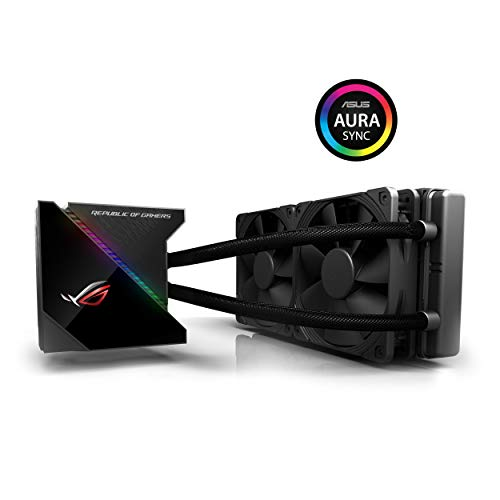 ASUS 90RC0030-M0UAY0 ROG Ryujin 240 All-in-One Liquid CPU Cooler with Live Dash Colour OLED - Black