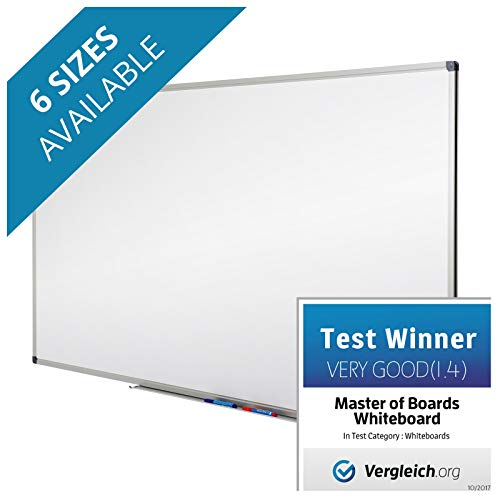 Master of Boards Drywipe Magnetic Whiteboard