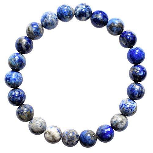 Zenergy Gems Charged Natural Premium Lapis Lazuli 8mm Bead...