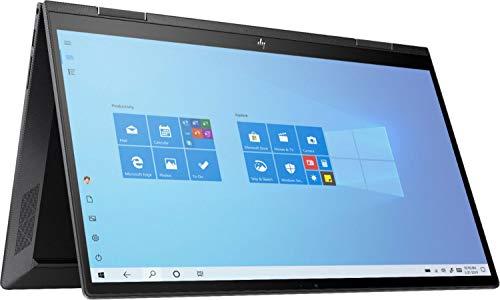"2020 Newest HP ENVY x360 2-in-1 Laptop, 15.6"" Full HD Touchscreen, AMD Ryzen 5 4500U Processor up to 4.0GHz, 8GB Memory, 256GB PCIe SSD, Backlit Keyboard, HDMI, Wi-Fi, Windows 10 Home, Nightfall Black"