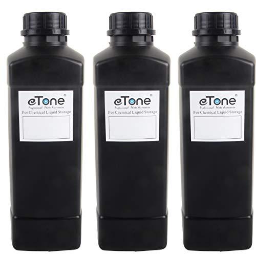 3X 1000ml Darkroom Chemical Storage Bottles Film Photo Developing Processing 1L