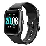 LIFEBEE Smartwatch, Fitness Armbanduhr mit pulsuhr Voller Touch Screen Smart Watch IP68 Wasserdicht Fitness Uhr mit Pulsuhren Schrittzähler Damen Herren Armbanduhr Sportuhr für iOS Android