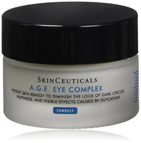 SkinCeuticals A.G.E. Eye Complex 0.5 oz Moisturizing Anti Aging Eye Cream with Vitamin E Helps Reduces Dark Circles, Puffiness and Crows Feet