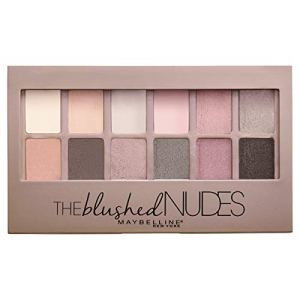 Maybelline New York The Blushed Nudes Eyeshadow Makeup Palette, 2 Count 44
