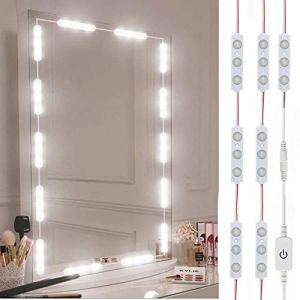 Led Vanity Mirror Lights, Hollywood Style Vanity Make Up Light, 10ft Ultra Bright White LED, Dimmable Touch Control… 34