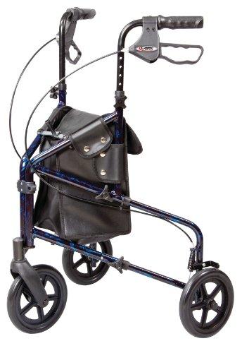 Carex 3 Wheel Walker for Seniors,...