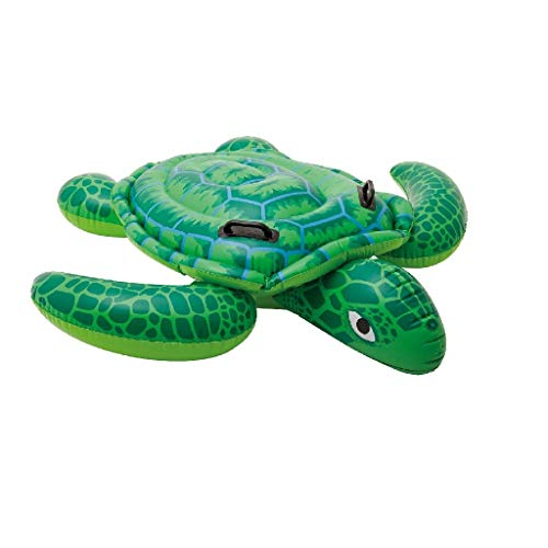 Intex Lil\' Sea Turtle Ride-On - Aufblasbarer Reittier - 150 x 127 cm