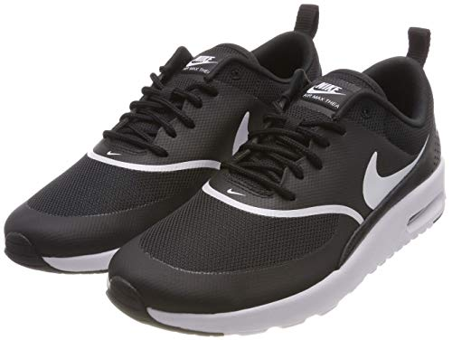 Nike Damen Air Max Thea Laufschuhe, Schwarz (Black/White 028), 37.5 EU