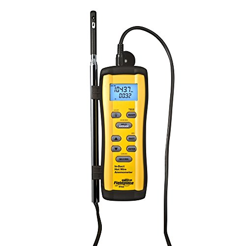 Fieldpiece STA2 in Duct Hot Wire Anemometer