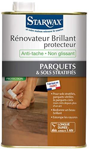 Starwax RÉNOVATEUR lucido protezione parquets stratifies lucido 1L