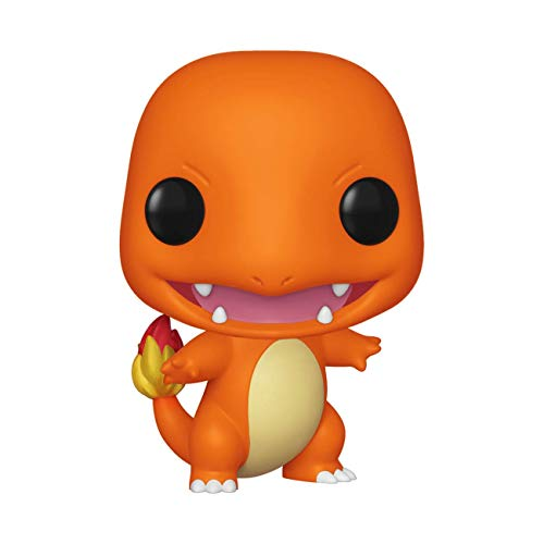 Charmander 455 Pokemon Funko Pop! Games Boneco Console Anime Colecione Express