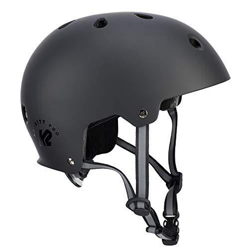 K2 Damen Herren Inline Skates Helm VARSITY PRO - schwarz - M (55-58cm) - 30D4111.1.1.M