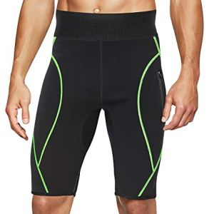 LODAY Mens Neoprene Sauna Sweat Shorts