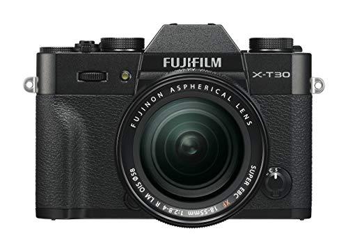 FUJIFILM ミラーレス一眼カメラ X-T30レンズキット ブラック X-T30LK-B