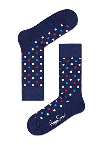 Happy Socks DOT Sock Calze, Multicolore (Multicolour 600), 7/10 (Taglia Unica: 41-46) Uomo