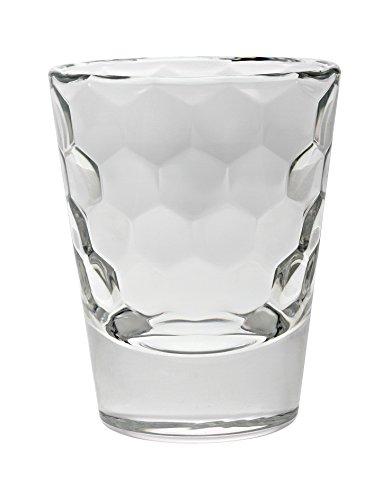 Vidivi Vetri delle Venezie 67259 Honey Set 6 Bicchieri da Liquore in Vetro da 8 cl, Trasparente