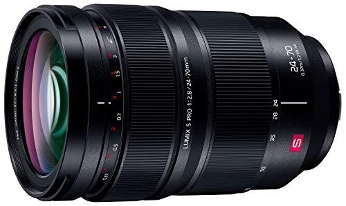パナソニック 大口径標準ズームレンズ フルサイズミラーレス一眼 Lマウントシステム用 ルミックス LUMIX S PRO 24-70mm F2.8 ブラック S-E2470