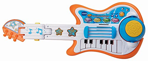 VTech Strum and Jam Kidi Musical Guitar Band (Frustration Free Packaging), Great Gift For Kids, Toddlers, Toy for Boys and Girls, Ages 3, 4, 5, 6