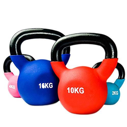FANG Kettlebell 2kg/4kg/6kg/8kg/10kg/12kg/14kg/18kg/20kg Equipo De...