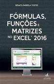 Fórmulas, Funções e Matrizes no Excel 2016