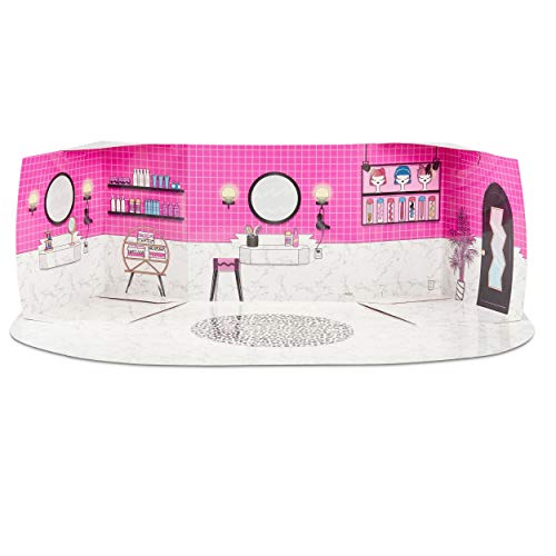 Image 2 - MGA- Meubles L.O.L Salon de beauté avec poupée Diva et 10+ Surprises Toy, 564102E7C, Multicolore