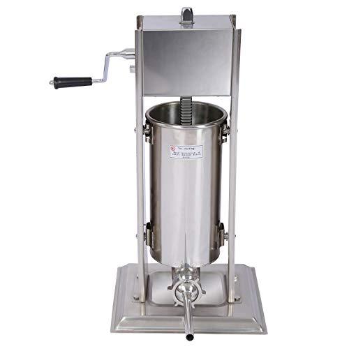 Wurstfüller Wurstfüllmaschine mit 7 L Fassungsvermögen für Wurstbrät
